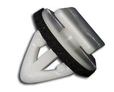 Díszlécrögzítő patent 10,5x15x9x12,5 fehér, 10 db/csomag Hyundai