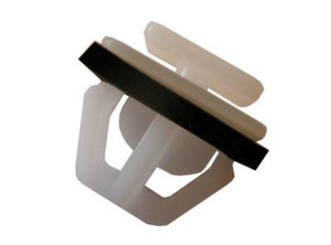 Oldaldíszléc rögzítő patent 11x9,6x9x14x9,5 fehér, 25 db/csomag Hyundai KIA