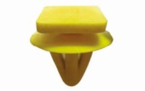 Oldaldíszléc rögzítő patent 12,4x14,1x7x12,2 sárga, 10 db/csomag Hyundai
