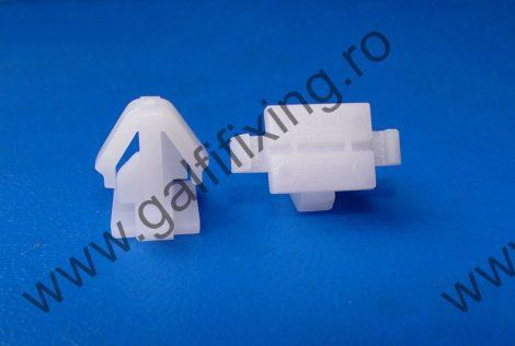Díszléc rögzítő patent, fehér, 11*9*11,7*9,8, Hyundai, 10 db/csomag