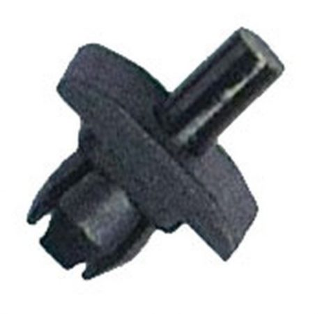 Hűtőrács rögzítő patent 12x17x8x7,4 fekete, 10 db/csomag Volkswagen Seat Audi Skoda