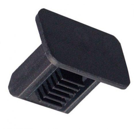 Kárpitrögzítő patent 11x17x6x10x11,9 fekete, 10 db/csomag Volkswagen Seat Audi Skoda