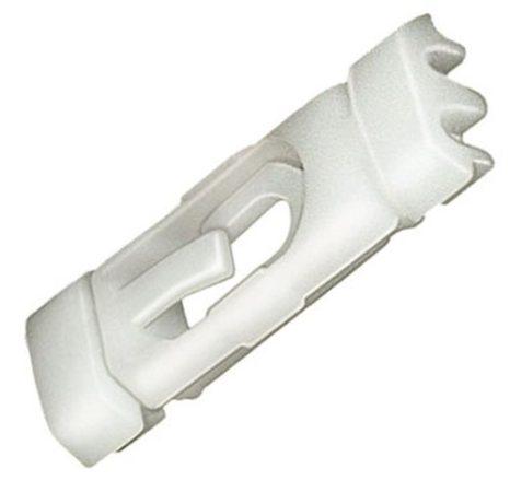 Tetődíszléc rögzítő patent 10,3x32x3,3 fehér, 10 db/csomag Volkswagen Seat Audi Skoda