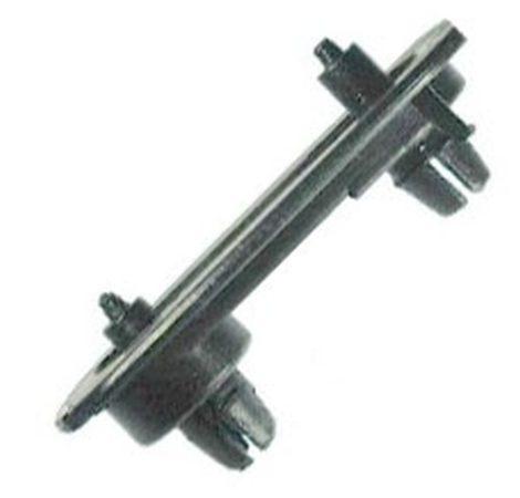 Lökhárító rögzítő patent 50x105x28 fekete, 2 db/csomag Volkswagen Seat Audi Skoda