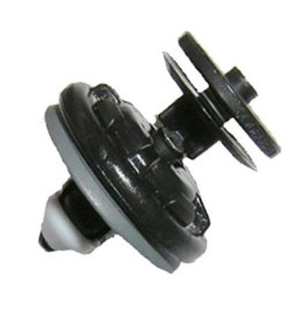 Ajtókárpit rögzítő patent 16x8x10,9 fekete, 10 db/csomag Volkswagen Seat Audi Skoda