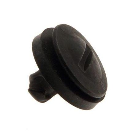 Lökhárító rögzítő patent 18x7x11,5 fekete, 10 db/csomag Volkswagen Seat Audi Skoda