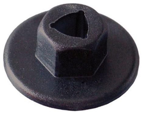 Lökhárító rögzítő patent 21x6 fekete, 10 db/csomag Mercedes Benz Volkswagen Seat Audi Skoda