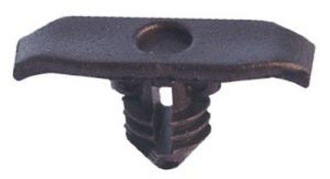 Ajtótömítő gumi rögzítő patent 17x,6x5,4x7x4x7 fekete, 10 db/csomag Volkswagen Seat Audi Skoda