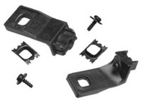 Fényszóró rögzítő patent készlet jobbos 6db/cs fekete Volkswagen Seat Audi Skoda