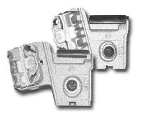 Első ajtóüveg rögzítő patent balos 2db/cs ezüst Citroen Peugeot Volkswagen Seat Audi Skoda