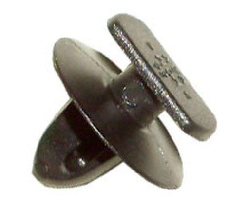 Ajtókárpit rögzítő patent 6,5x11x5,5x8,2 fekete, 10 db/csomag Volkswagen Seat Audi Skoda