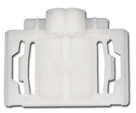 Díszlécrögzítő patent 34,7x25x10x6,7 fehér, 10 db/csomag Volkswagen Seat Audi Skoda