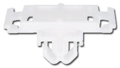 Díszlécrögzítő patent 35x22x11x10 fehér, 10 db/csomag Volkswagen Seat Audi Skoda