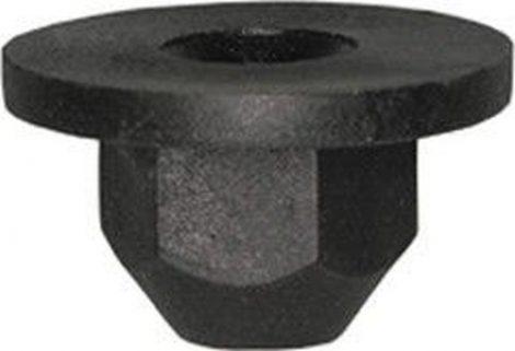 Műanyag anya 18,5x4,5x8,5 fekete, 10 db/csomag Volkswagen Seat Audi Skoda