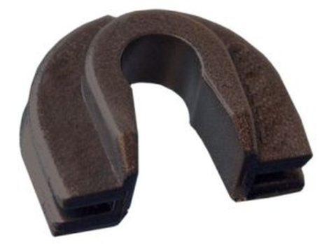Lökhárító és hűtőracs rögzítő patent 18x14,3 fekete, 10 db/csomag Volkswagen Seat Audi Skoda