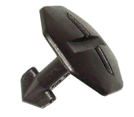 Motorvédő burkolat rögzítő patent 25,2x4,8x9,6x19,5 fekete, 10 db/csomag Volkswagen Seat Audi Skoda