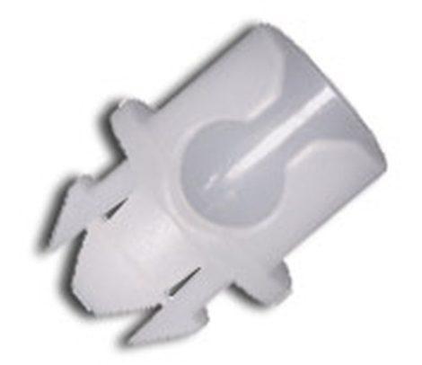 Ajtó zárszerkezet rögzítő patent 6,9x6,7x5 fehér, 10 db/csomag Volkswagen Seat Audi Skoda
