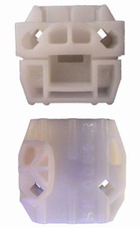 Első ajtóüveg rögzítő patent jobbos fehér Volkswagen Seat Audi Skoda