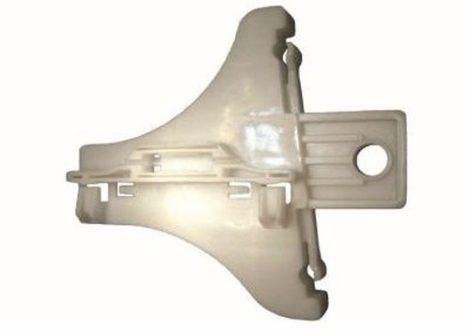Hátsó ajtóüveg rögzítő patent jobbos fehér Volkswagen Seat Audi Skoda