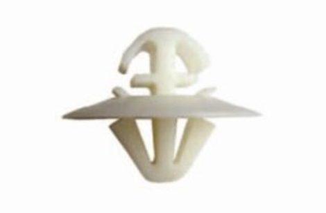 Díszlécrögzítő patent 11,5x8x8x9 fehér, 10 db/csomag Mercedes Benz Volkswagen