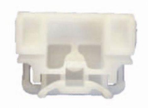 Első ajtóüveg rögzítő patent balos vagy jobbos ajtóhoz fehér '03-> Volkswagen Seat Audi Skoda