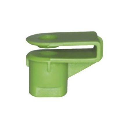 Lökhárító rögzítő műanyag anya 12x20x5 zöld, 10 db/csomag Renault Volkswagen Seat Audi Skoda
