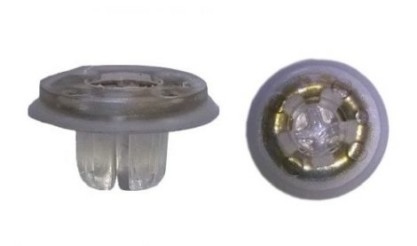 Tükörburkolat rögzítő patent 13,5x6x6 natúr, 10 db/csomag BMW Ford Volkswagen Seat Audi Skoda