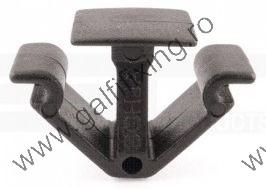 Tetőkárpit rögzítő patent, 11*22*15, fekete, Volkswagen, Seat, Ford, 10 db/csomag