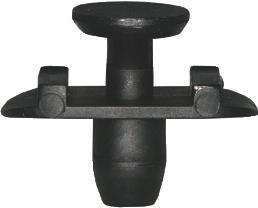Rögzítő patent (szélvédő), 22*6,2*10*7,8*3*7 furat, fekete, 5 db/csomag, Volkswagen, Seat, Audi