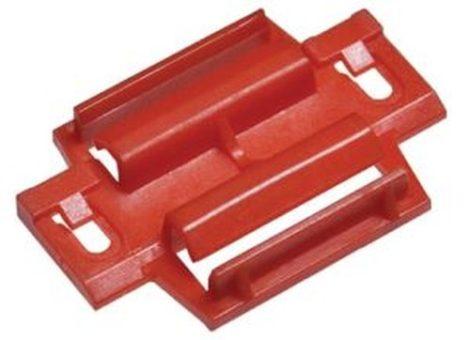 Oldaldíszléc rögzítő patent 34x50 piros, 5 db/csomag Fiat Iveco