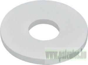 Fakötésű lapos alátét, polyamid, 10 db/csomag, DIN9021