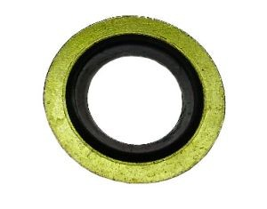 Műanyag betétes tömítő alátét, 14,70x22x1,5 mm, 25 db/csomag