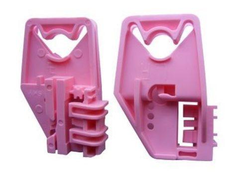 Első ajtóüveg rögzítő patent balos 2db/cs rózsaszín Volkswagen Seat Audi Skoda