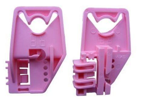 Első ajtóüveg rögzítő patent jobbos 2db/cs rózsaszín Volkswagen Seat Audi Skoda